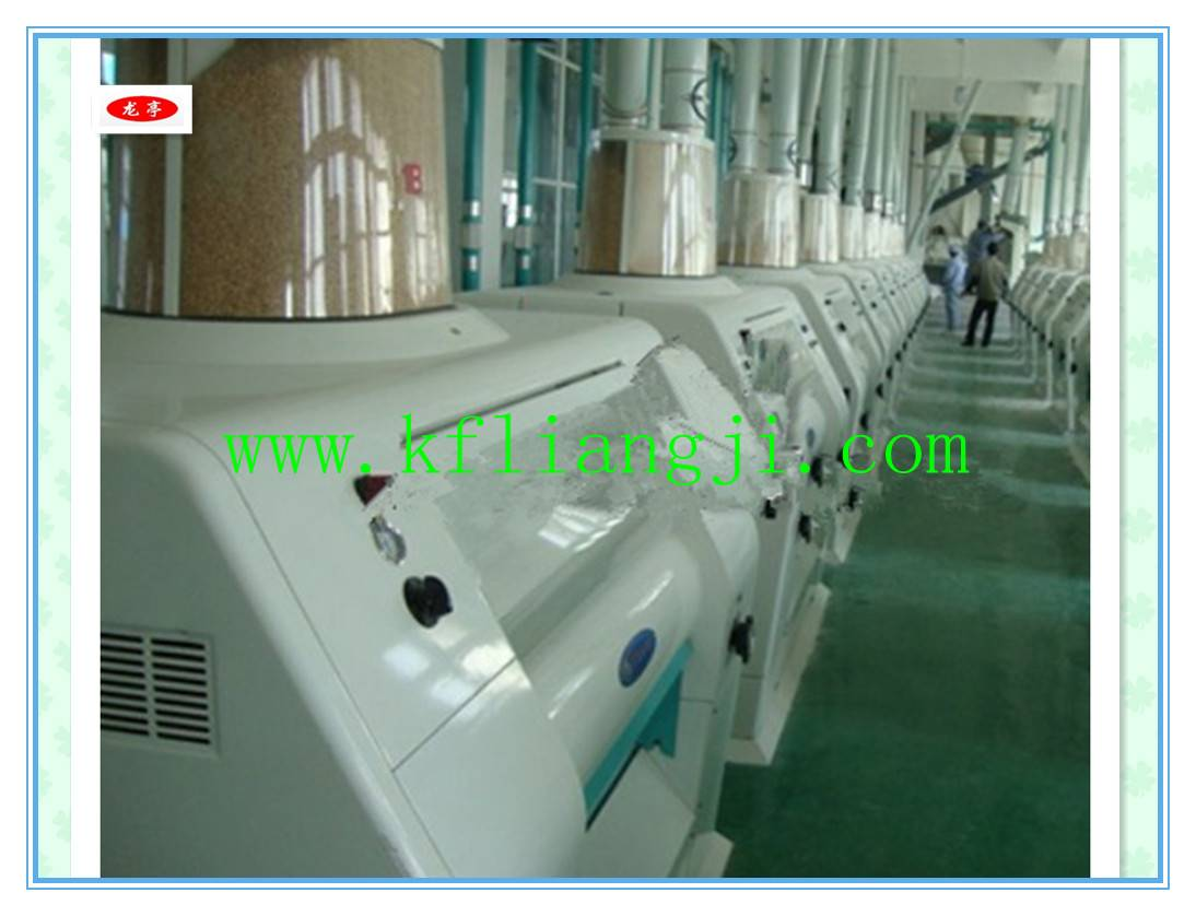 80t/24h Wheat /Corn /Rice Flour Milling Machine/Flour Mill