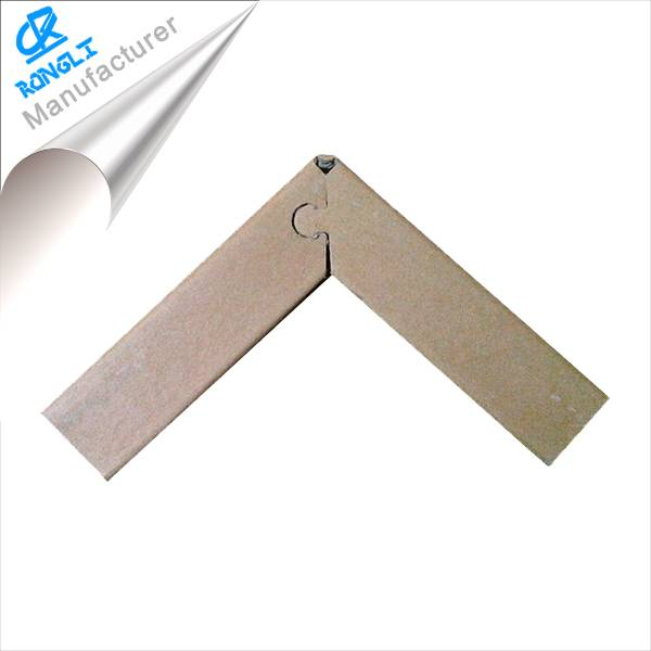 100% recyclable enviroment-friendly paper corner protector with 50*50*5