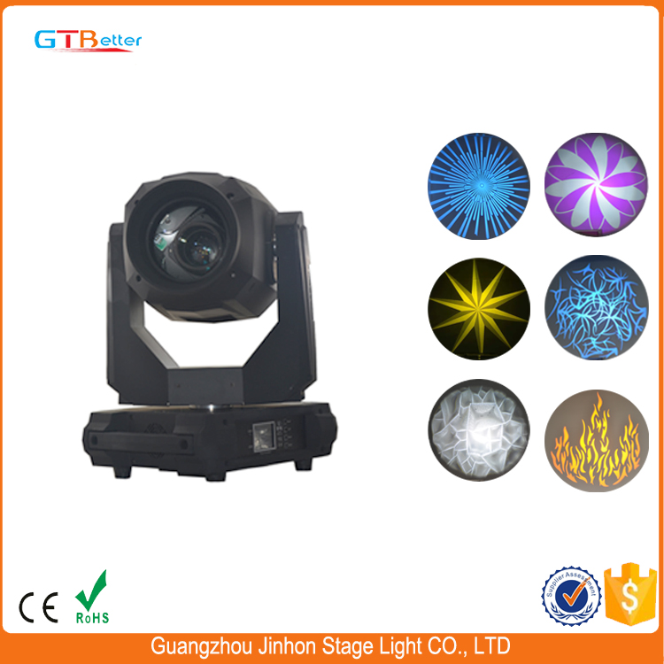 330w beam spot wash moving head light with CMY