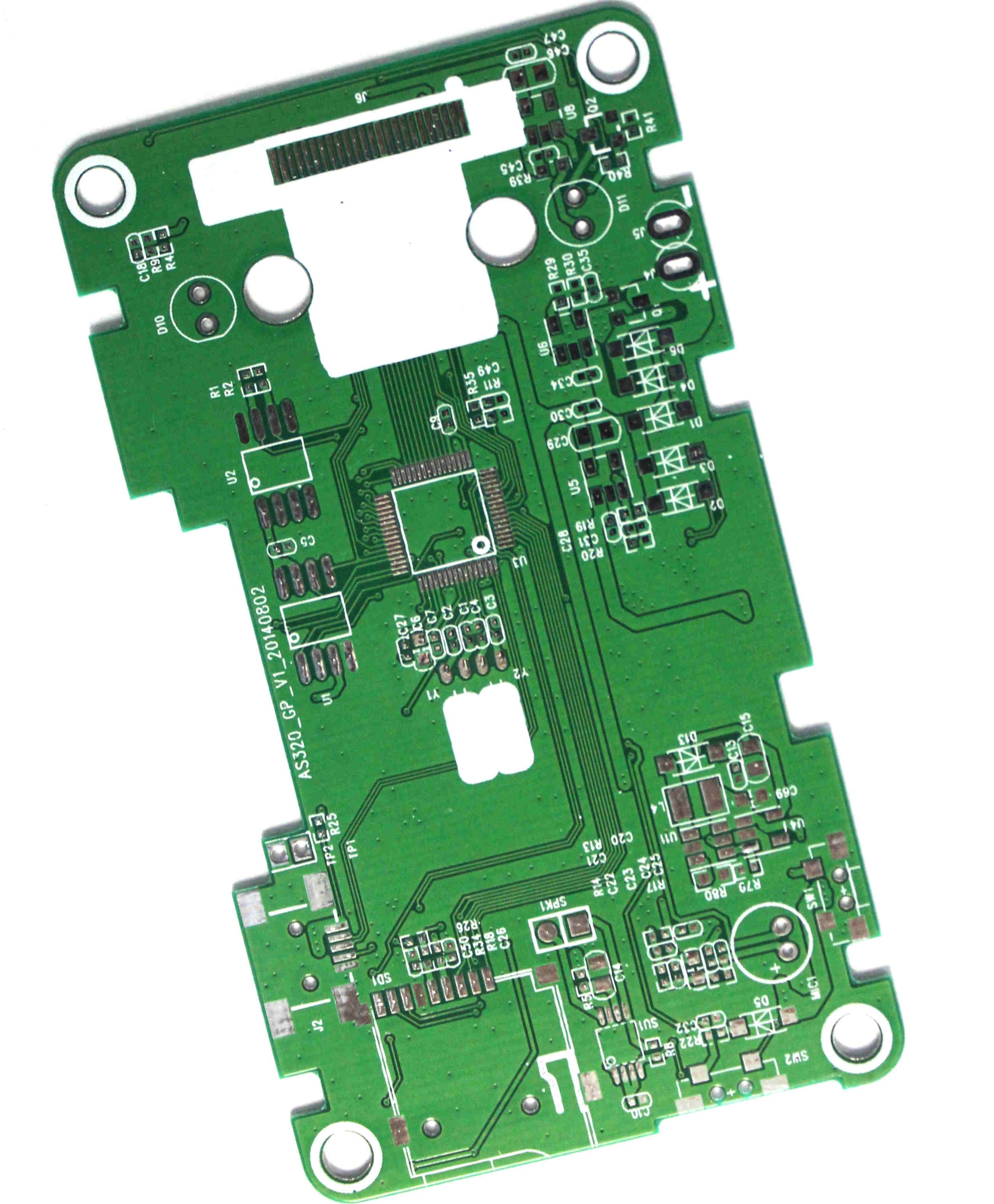 Double sided PCB for Tachograph-3