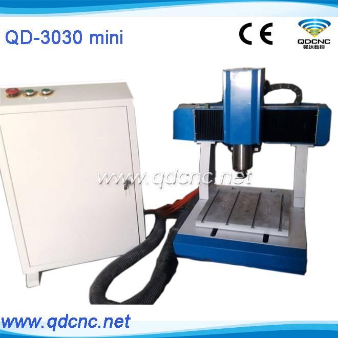 mini metal cnc router QD-3030