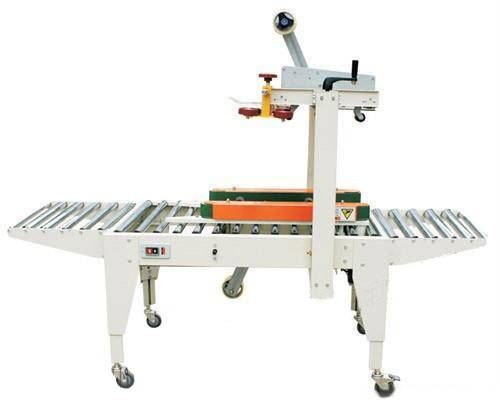 FXJ5050Z Automatic carton folding and sealing machine with the adhesive tape