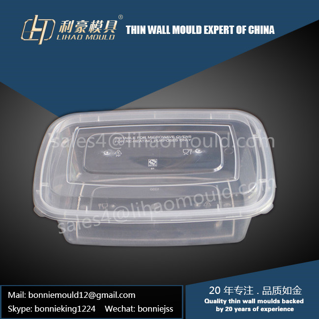 1250ml high speed thin wall container mould