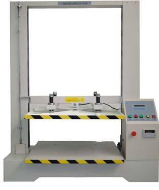 LCD display carton/box compression testing machine