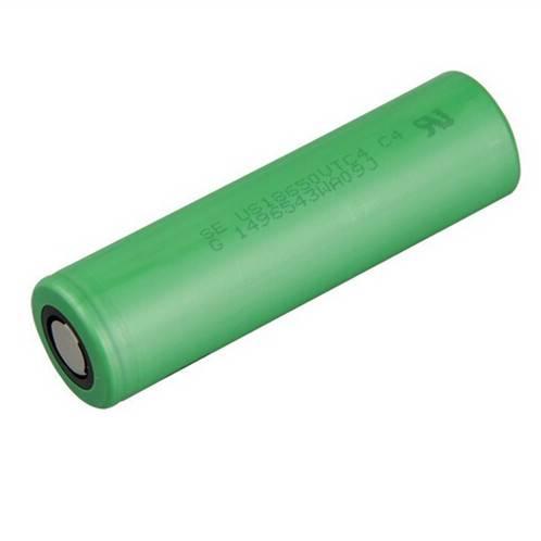 High Drain 30A US18650VTC4 2100mAh Li-ion Rechargeable Battery for E-cigarette