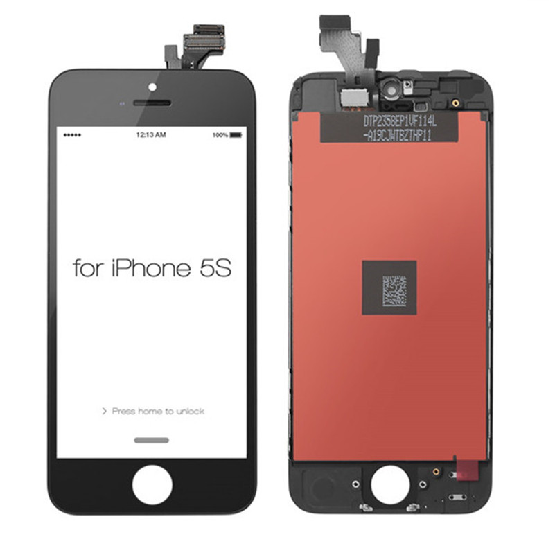 LCD screen for iPhone 5S digitizer replacement parts wholesale