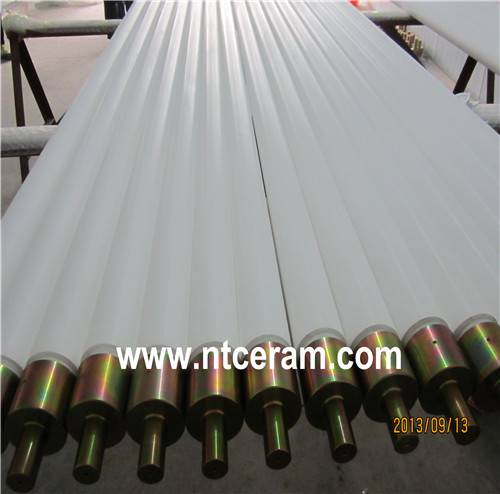 ceramic roller for the glass tempering machine