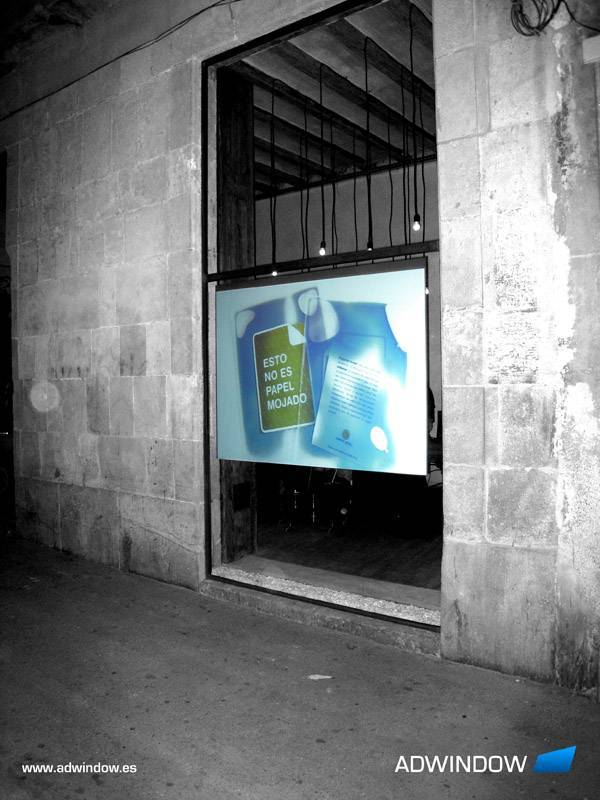 KITAPON Contrast Adhesive rear projection screen film