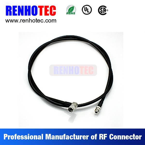 Doube N F Male Coaxial Wiring Rope Harness Custom Cable Assemblies