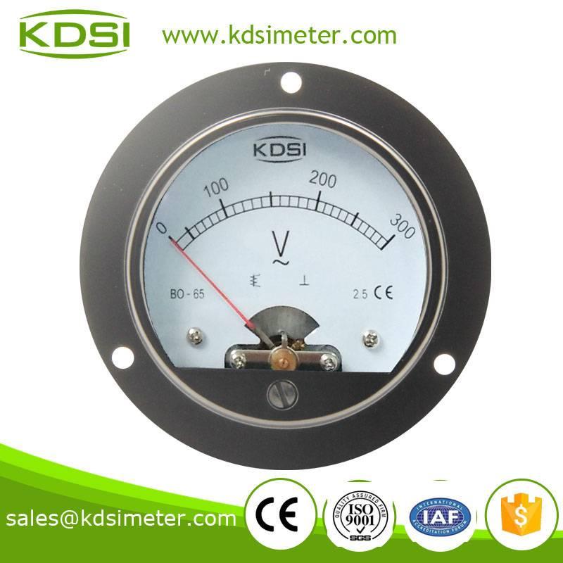 Hot Selling Good Quality  BO-65 AC300V electrical voltmeter gauge