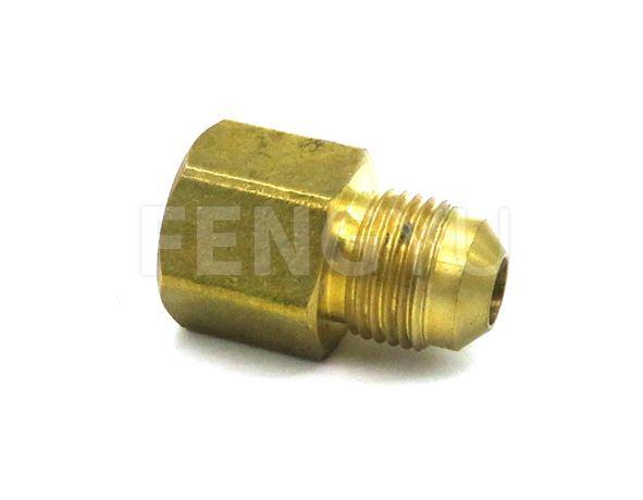 Brass female flare x female thread adapter F220X