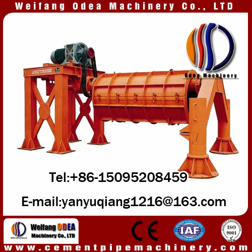 Reinforced Drainage Water Cement Pipe Machine , Hume Pipe Making Machine