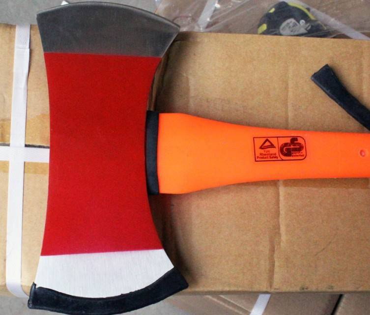 fireman axe with fiberglass handle A620