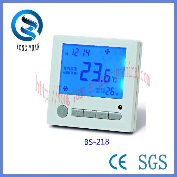 LCD Room Thermostat For Air Conditioning