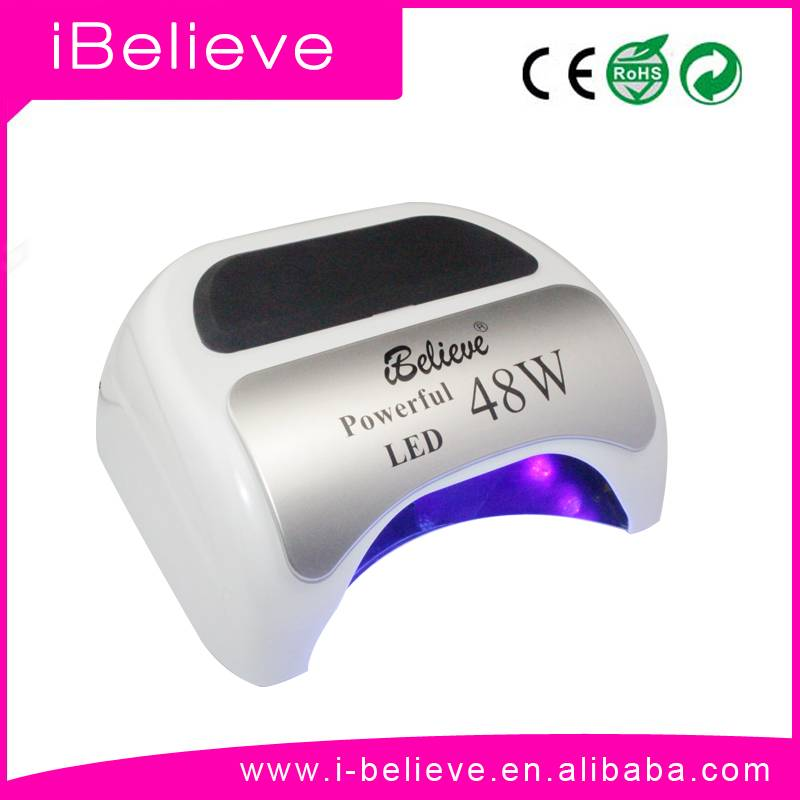 High Power 48W UV LED Nail Lamp with LCD and Sensor