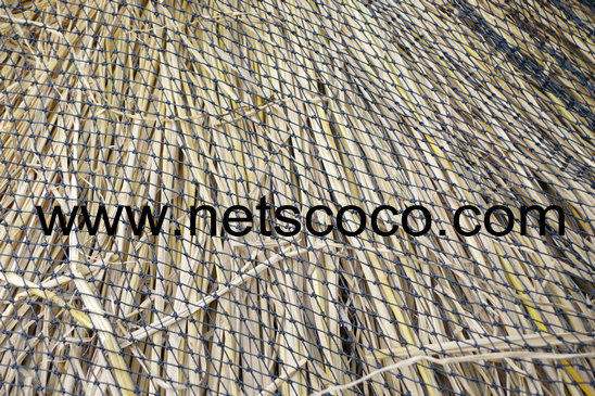 Netscoco Roofing Net / Thatch Roofing Net / Thatch Retaining Net / Thatch Roof Cover Net / Tiki T