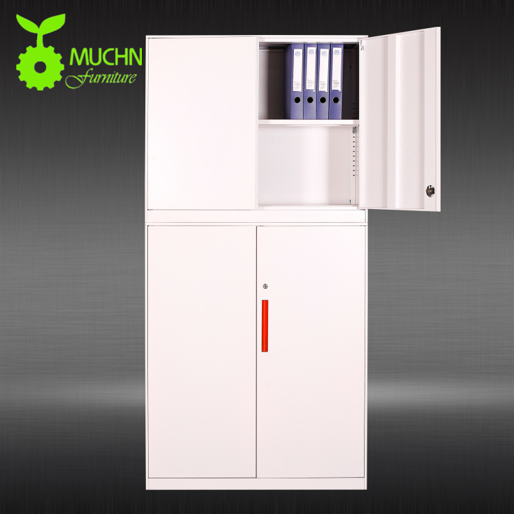 High Quality steel almirah double door safe locker iwardrobe file cabinet