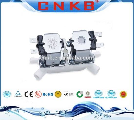 Two position two way RO machine water dispenser solenoid valve
