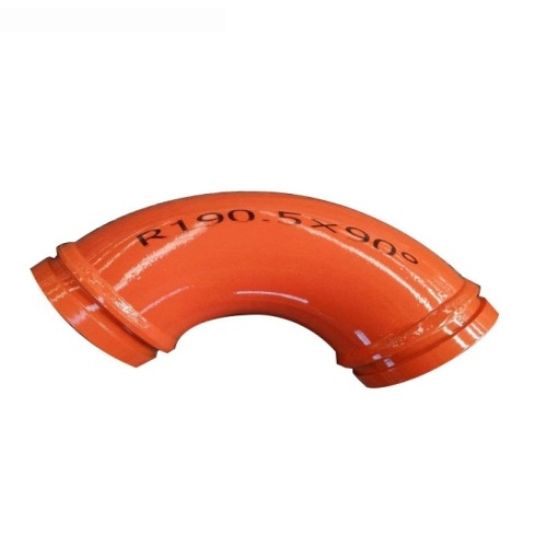 Double Wall Wear-resisting Steel DN125 Concrete Bend Pipe /Elbow Pipe Bend Pipe Joint /Concrete Pump