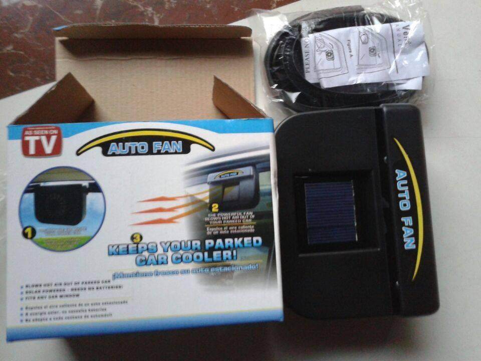 Auto Fan Mini Solar Car Fan