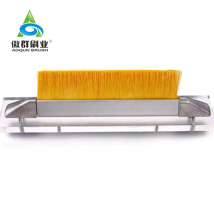Skirt Brush Escalator