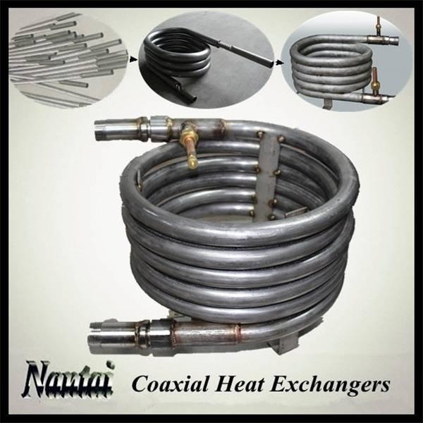 High-efficiency Tube in Tube Heating Exchanger