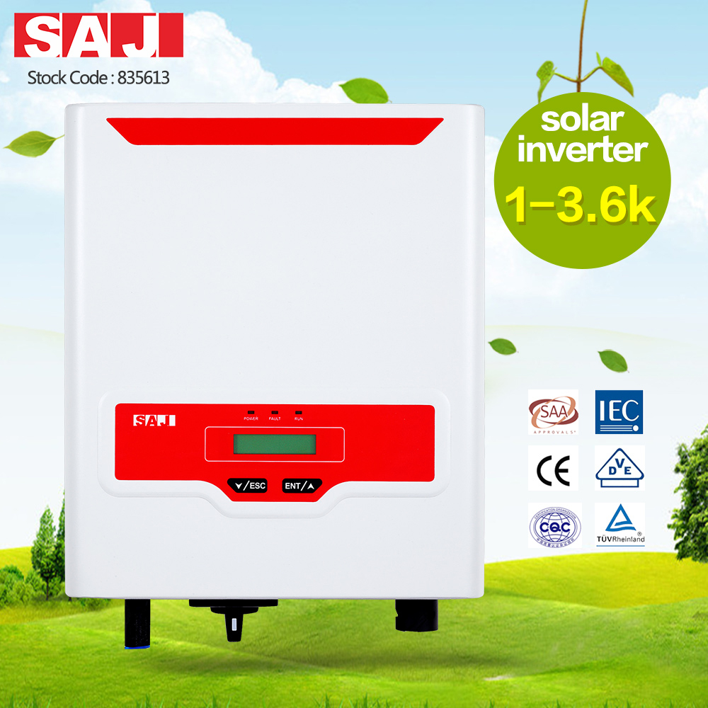 SAJ high quality Rooftop Single phase 1 MPPT On-grid solar inverter for residential