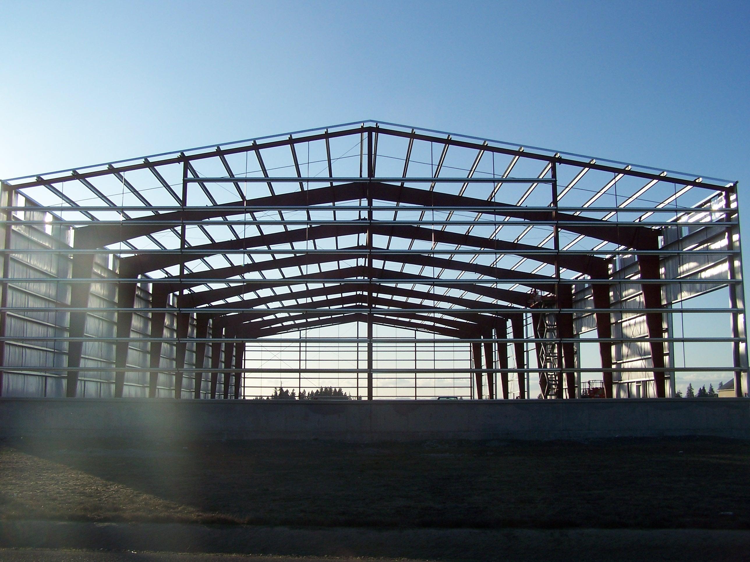 steel structure godown