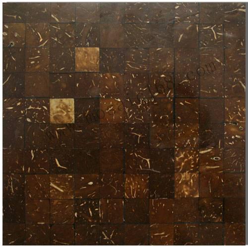 nature coconut mosaic tile