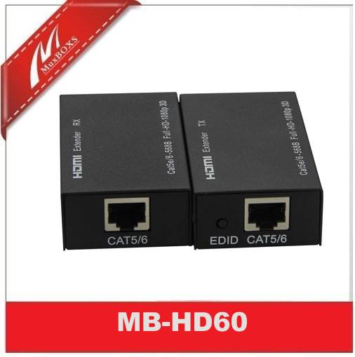 HDMI Extender via cat5e/6 up to 197ft/HDMI Over Ethernet