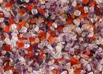 Semi precious chips