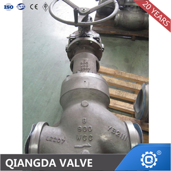 High Pressure Sealed Bonnet Globe Valve with RF or Bw Ends