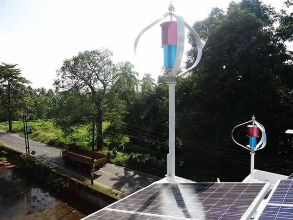 600w low noise wind generator for home use