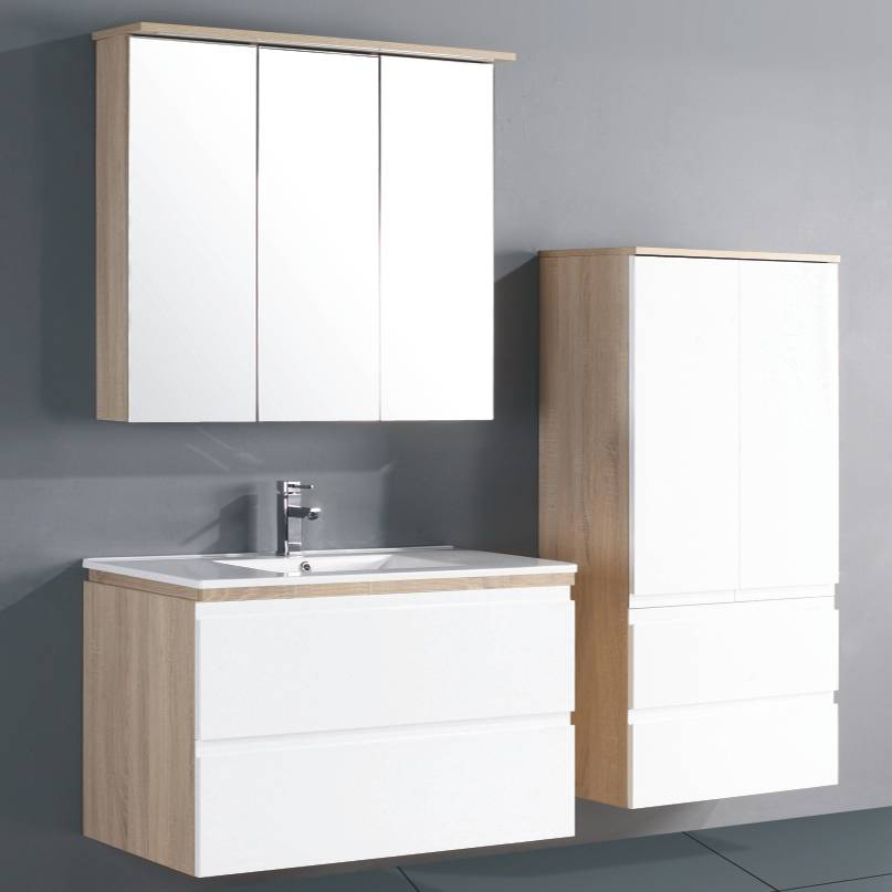 Goldea Bathroom Cabinet SYRINX YBC 140-090