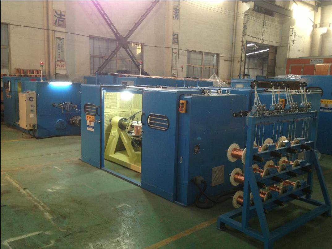 Fuchuan FC 1+6(250B)+12 high speed wire bunching machine with high performance