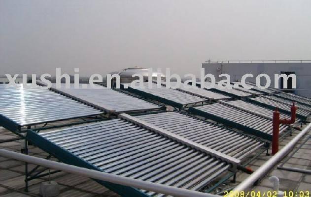 economical non-pressurized solar thermal collector