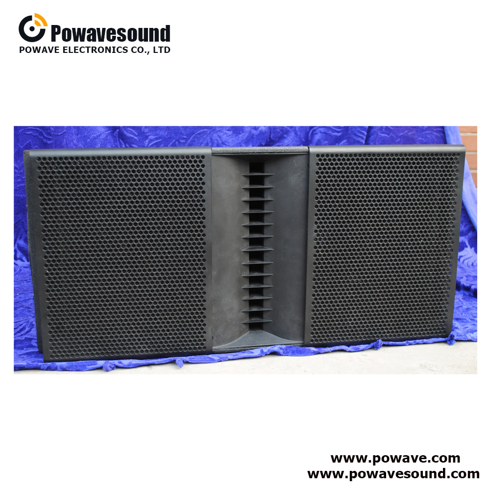 AS-2210 Powavesound line array system dual 10 inch 2 way dsp control active array speaker