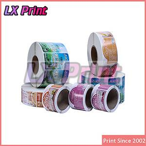 Custom self adhesive roll printed label sticker