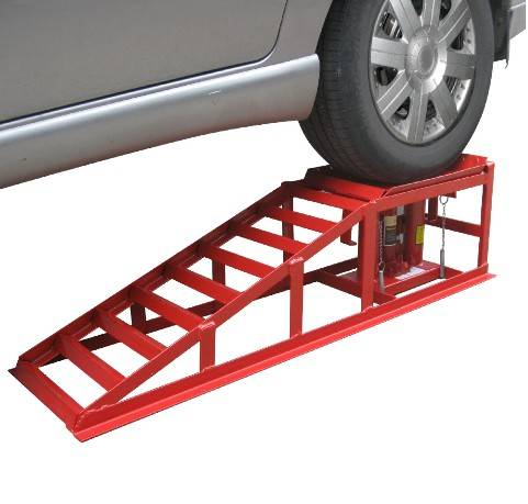 hydraulic car ramp