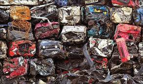 Baled Cars, Compressed Cars, Flattened Cars, Car Scraps