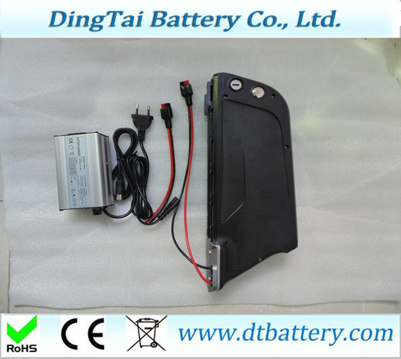 new arrival 1000w 14S4P downtube mounted 52v 14ah e-bike battery pack