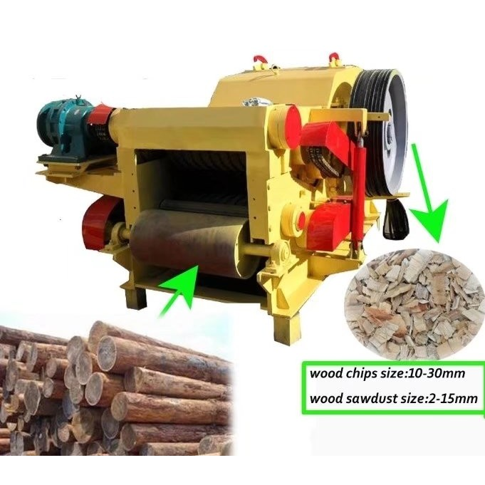 Drum chipper wood chipper machine manufacturers