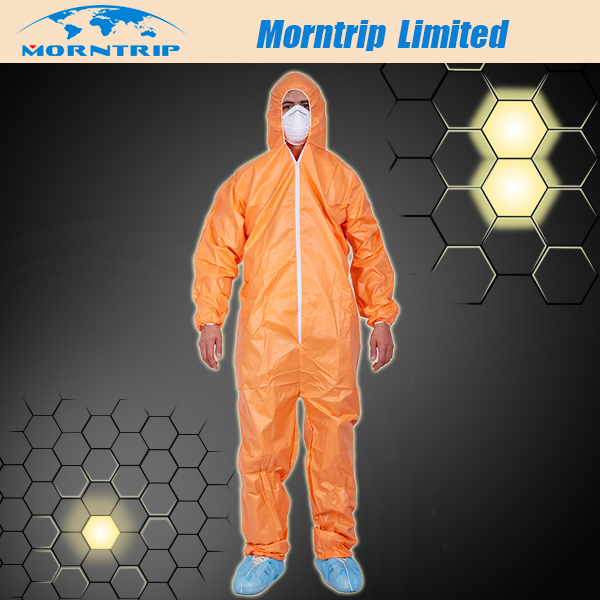PPE Safety Solutions Orange Color Protective Coverall