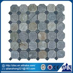 wholesale 3d slate mosaic stone flooring tile