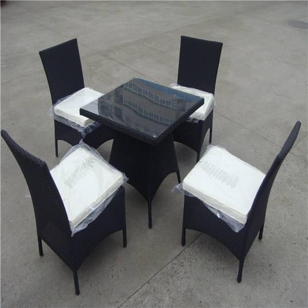Fashionable wicker dining set & cheap wicker sofa