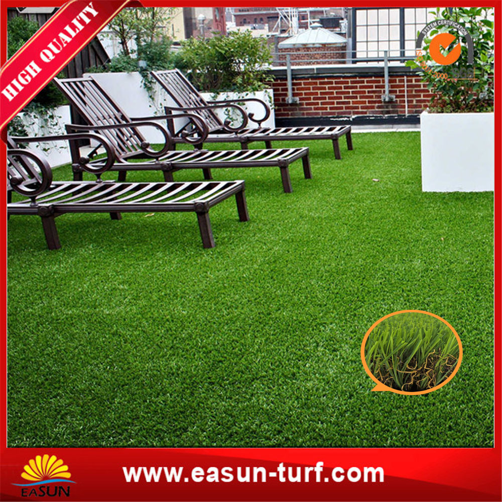 Deck garden and residential anti-UV synthetic grass turf-ML