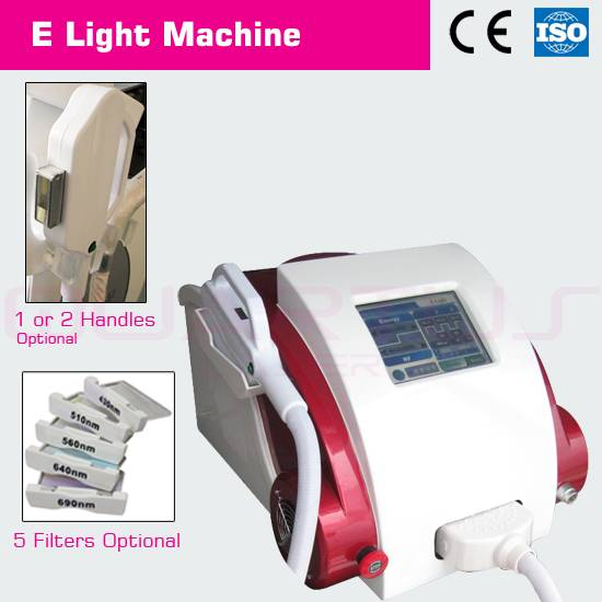 E-light(IPL+RF) beauty equipment with professional technology to remove wrinkle bring skin rejuvenat