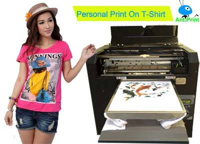 T-shirt Printing machine, Print on your t-shirt directly