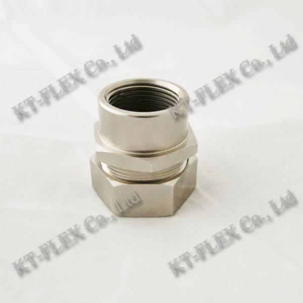 Conduit to pipe waterproof stainless steel coupling