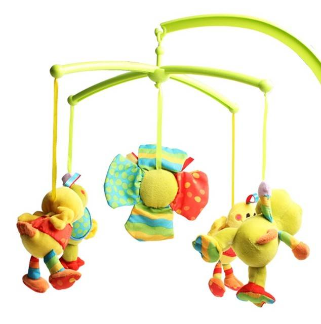 Musical Soft Toy Crib Spining And Rotated baby plush toys